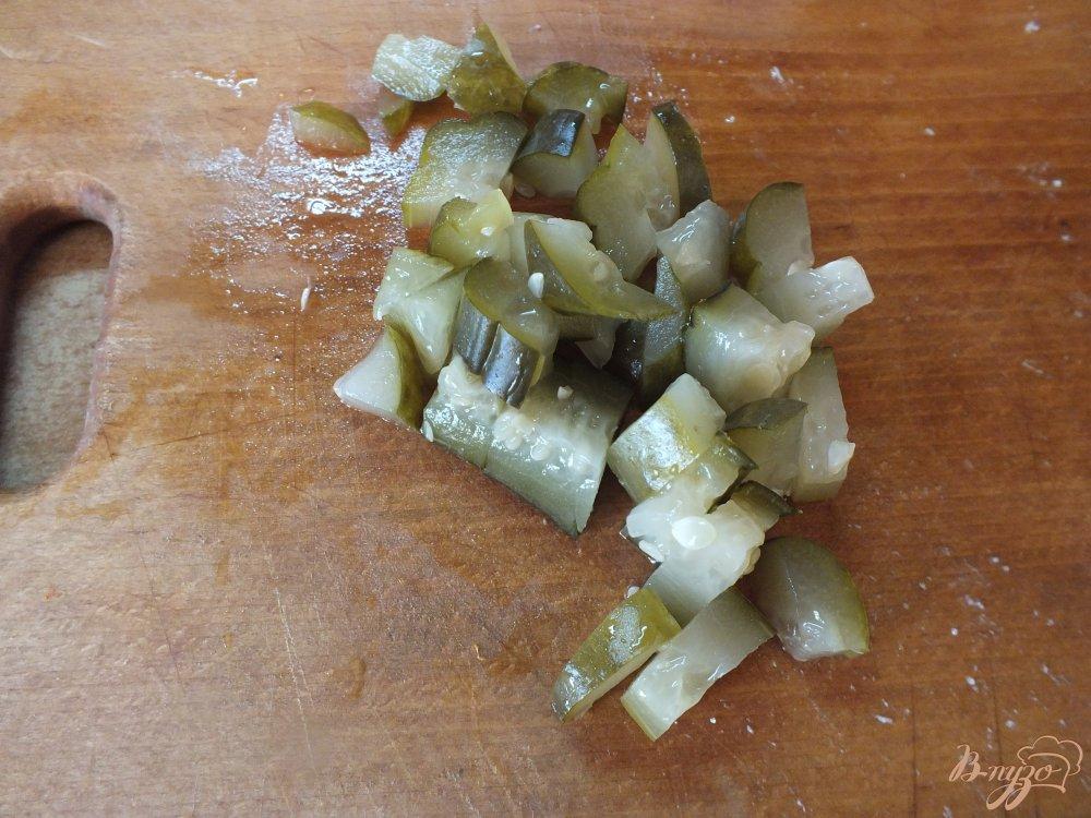 Фото приготовление рецепта: Рассольник с говядиной шаг №4