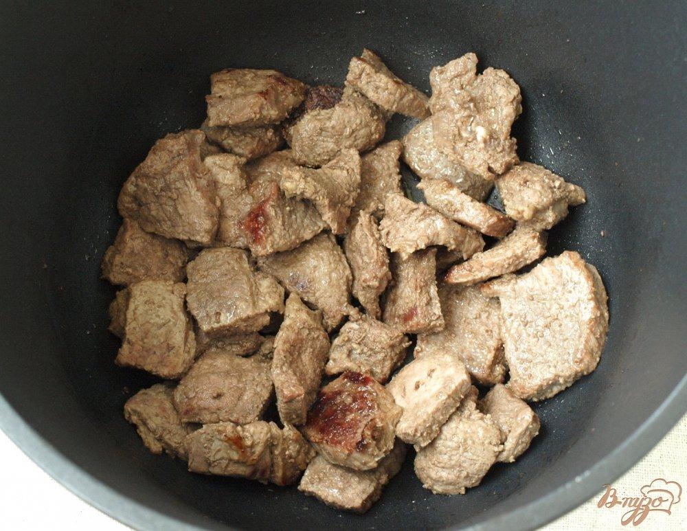 Фото приготовление рецепта: Говядина в кисло-сладком соусе шаг №1