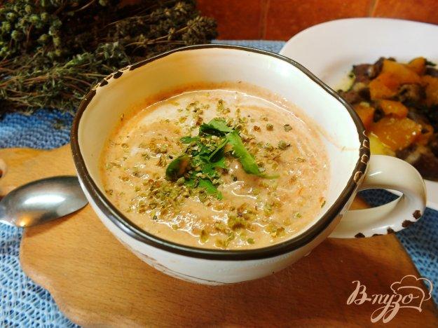 Рецепт Суп-пюре из печеных овощей