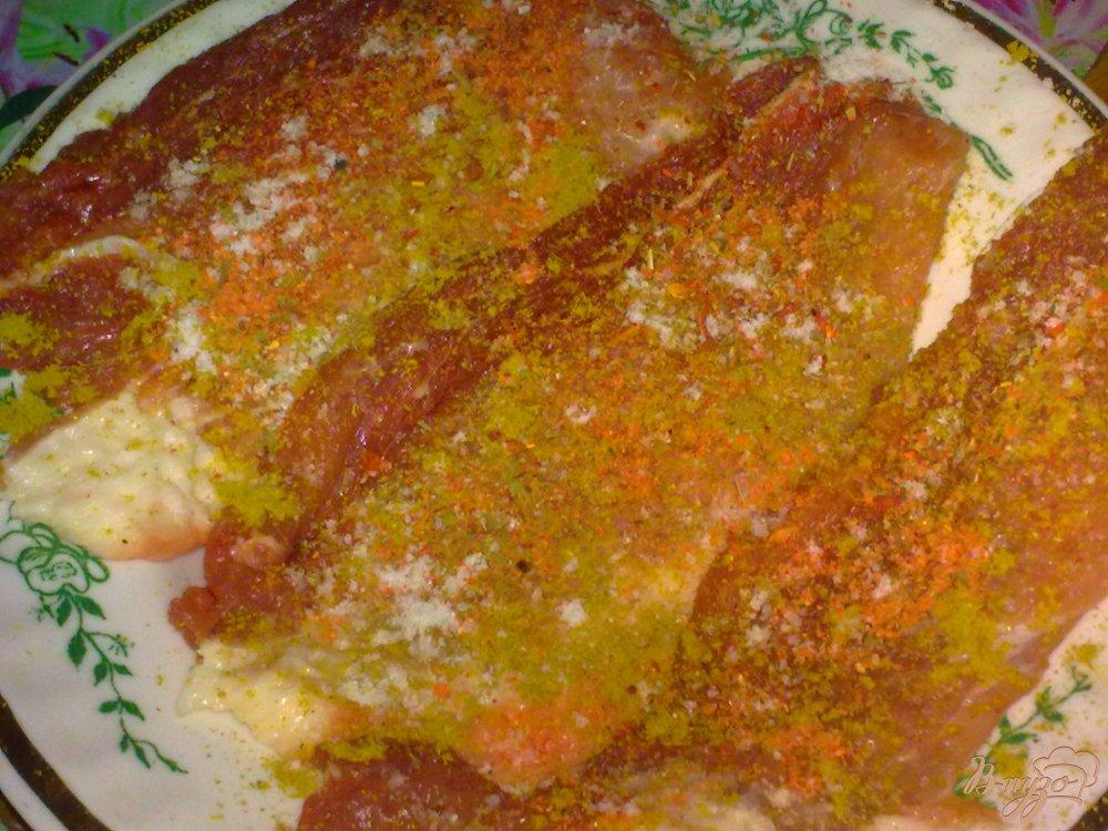 Фото приготовление рецепта: Свинина в травах шаг №3