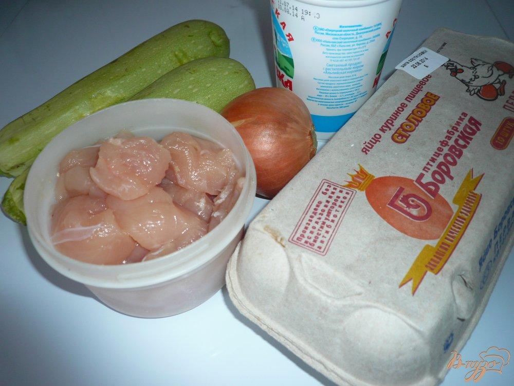 Фото приготовление рецепта: Куриное филе с кабачком шаг №1