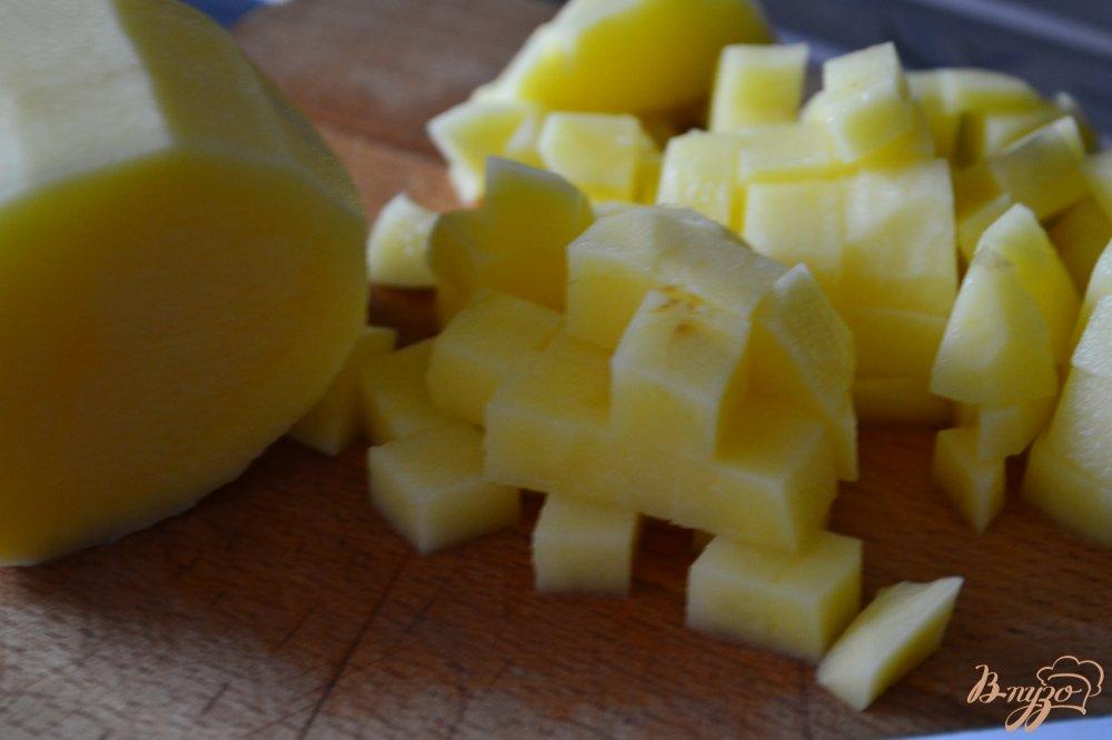 Фото приготовление рецепта: Овощной суп шаг №3