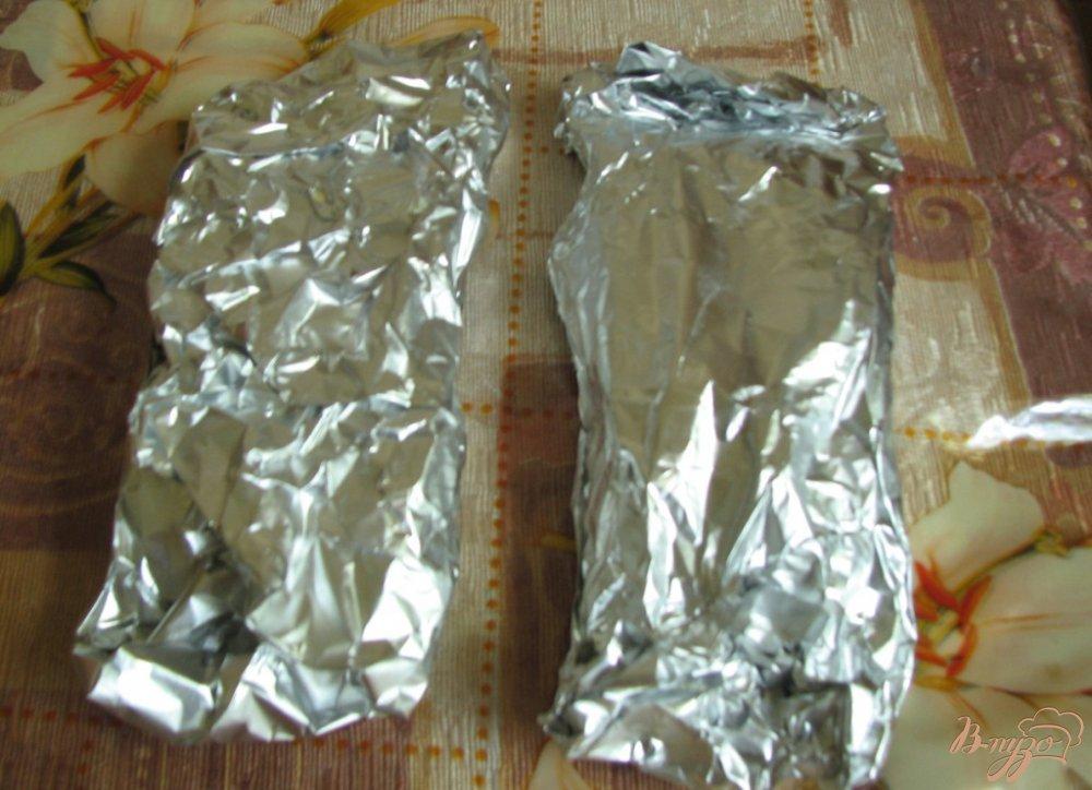 Фото приготовление рецепта: Запеченное филе лосося, с лимоном шаг №4