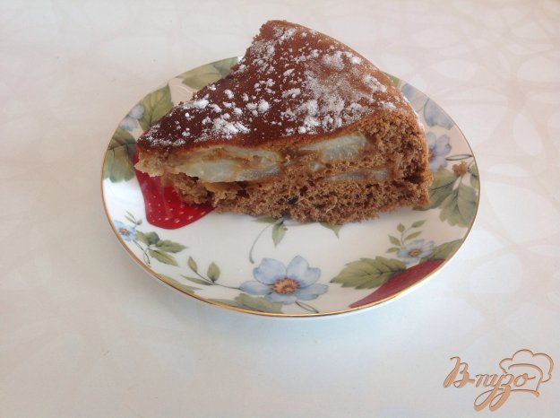 Рецепт Шоколадная шарлотка с грушами в мультиварке