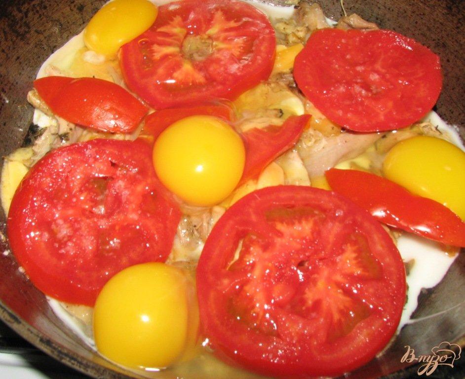 Фото приготовление рецепта: Быстрый завтрак шаг №3