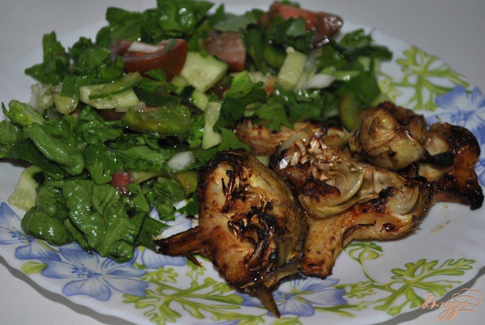 Фото приготовление рецепта: Артишоки по-средиземноморски шаг №6