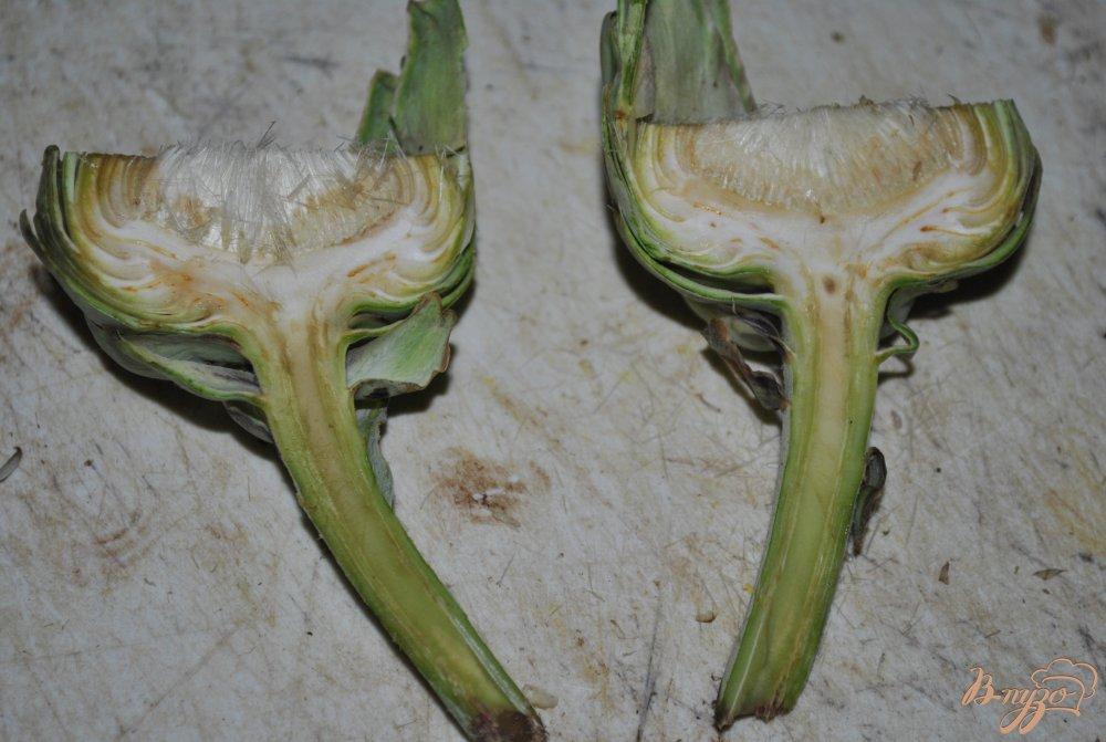 Фото приготовление рецепта: Артишоки по-средиземноморски шаг №2