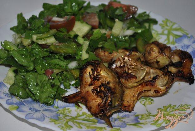 фото рецепта: Артишоки по-средиземноморски