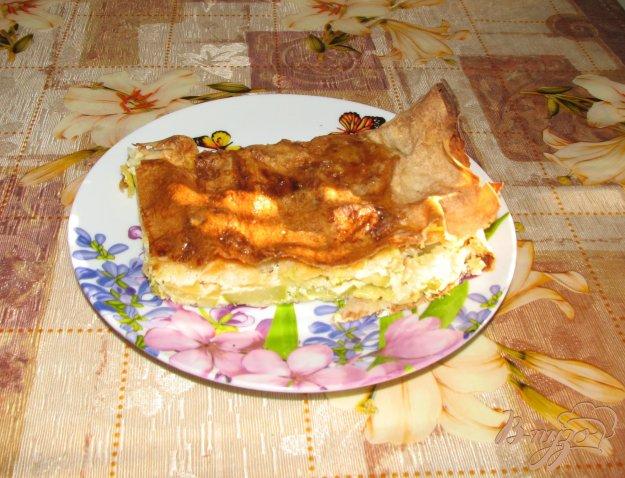 Рецепт Овощной пирог в армянском лаваше