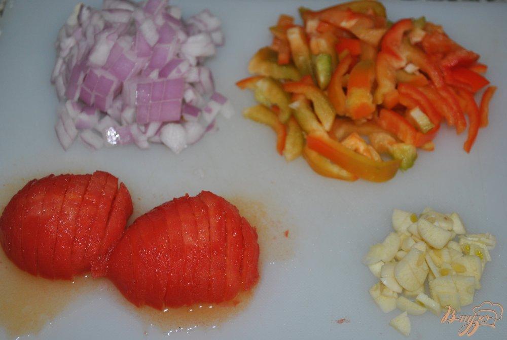 Фото приготовление рецепта: Суп с горохом нут шаг №2