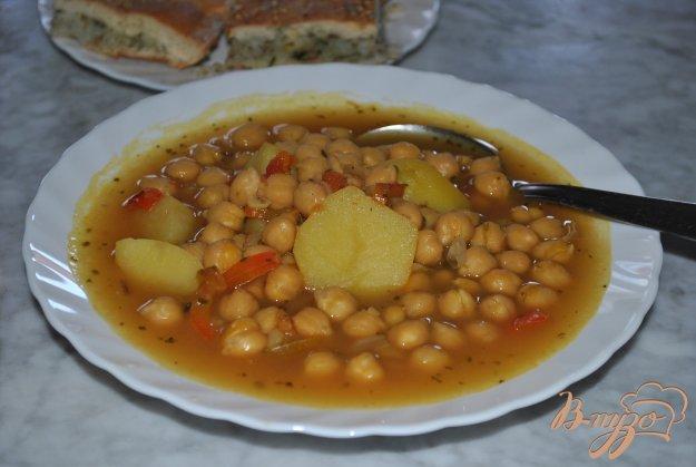 фото рецепта: Суп с горохом нут