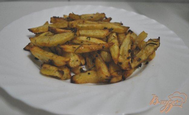 Рецепт Картофель-фри для ленивых
