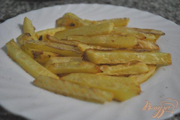 Рецепт Самый хрустящий картофель-фри