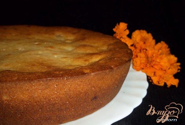 Рецепт Сметанный пирог с яблоками