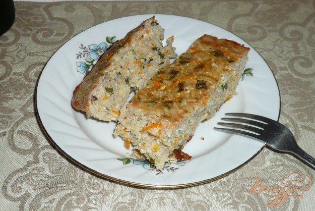 Рецепт Запеканка из фарша с рисом и морковью