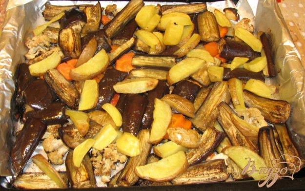 Рецепт Овощи печеные в духовке