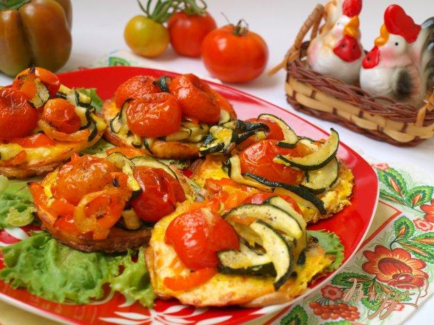 Рецепт Овощи-гриль запечённые с адыгейским сыром