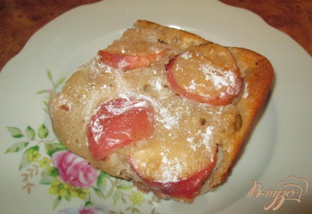 Рецепт Яблочный пирог на детском творожке