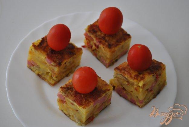 Рецепт Испанская тортитья с колбасой