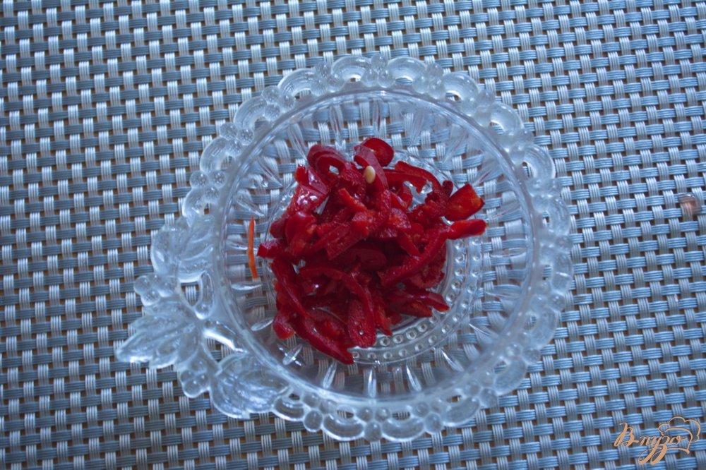Фото приготовление рецепта: Лечо  из болгарского перца с добавлением яблок шаг №7