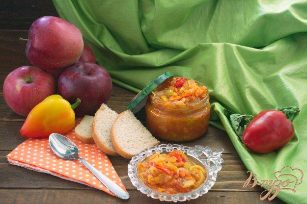 фото рецепта: Лечо  из болгарского перца с добавлением яблок