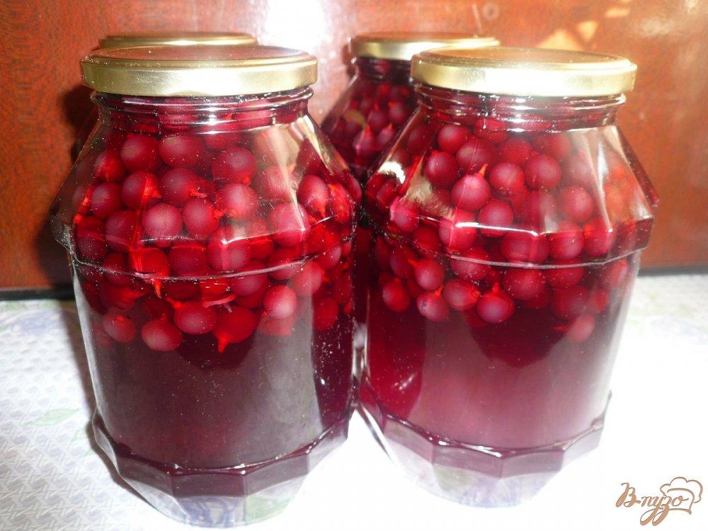 Фото приготовление рецепта: Виноградный компот на зиму шаг №3
