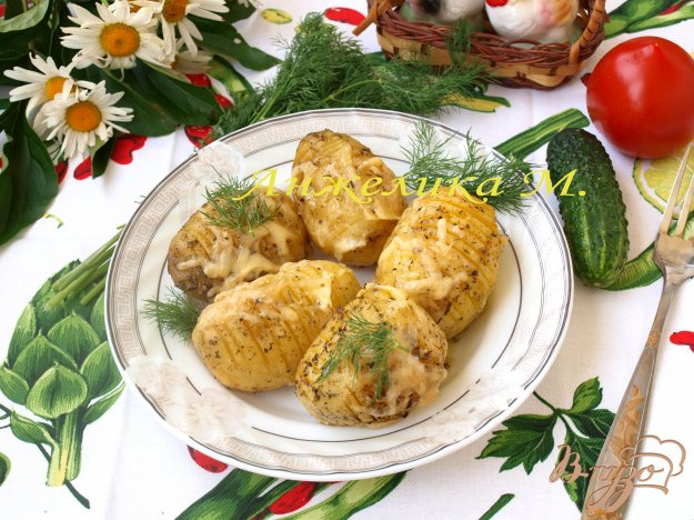 Рецепт Картофель,запечённый в духовке с ароматными травами