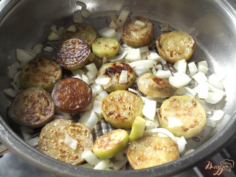 Фото приготовление рецепта: Армянский салат с баклажанами шаг №2