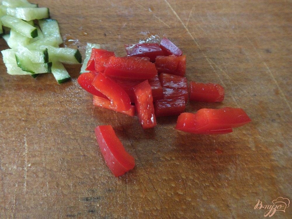 Фото приготовление рецепта: Фаршированные куриные сердечки шаг №4