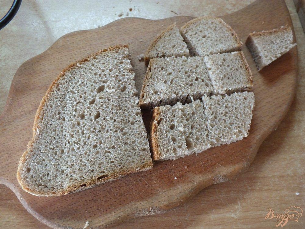 Фото приготовление рецепта: Холодный красный суп-пюре с серым хлебом шаг №1