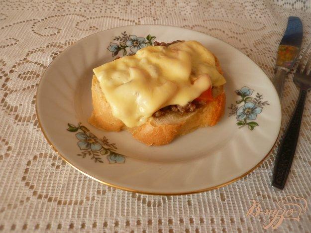 Рецепт Бутерброды с фаршем