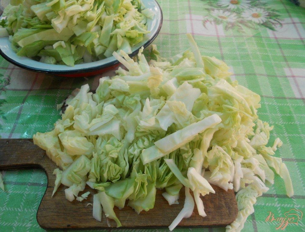 Фото приготовление рецепта: Щи из молодой капусты шаг №1