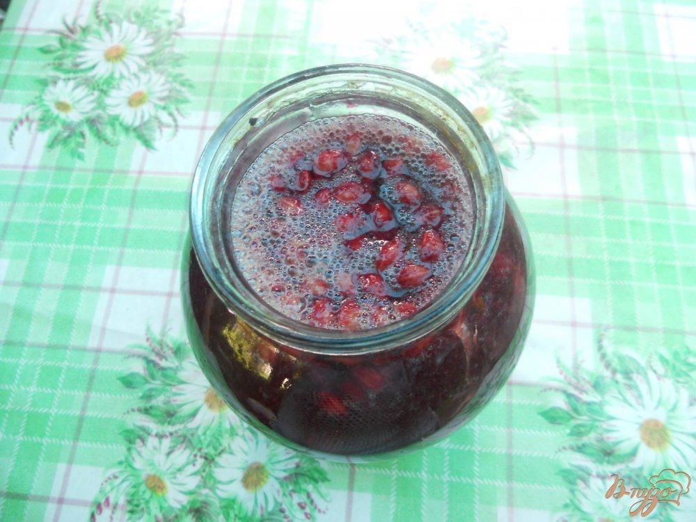 Фото приготовление рецепта: Настойка на вишневых косточках шаг №3
