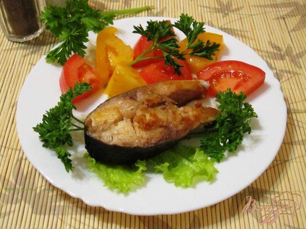 Рецепт Белая рыба со свежими помидорами