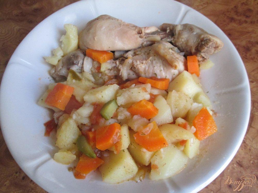 Фото приготовление рецепта: Картошка по-деревенски шаг №8
