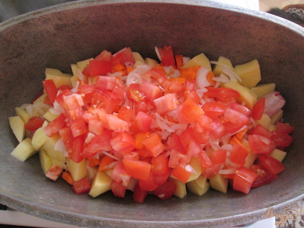 Фото приготовление рецепта: Картошка по-деревенски шаг №4