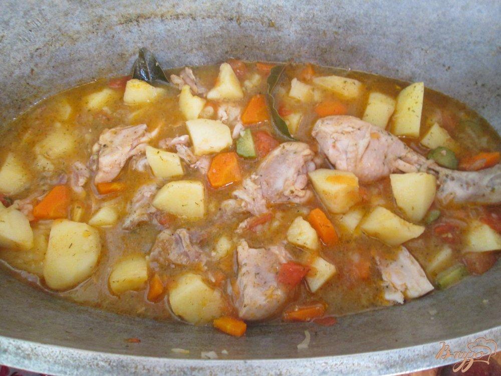Фото приготовление рецепта: Картошка по-деревенски шаг №7