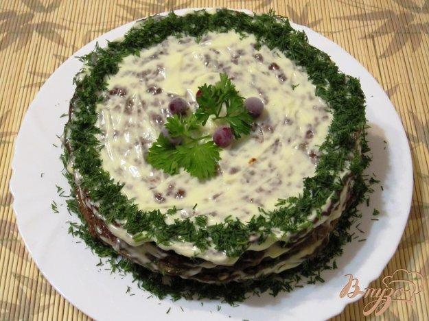 фото рецепта: Торт из печенки