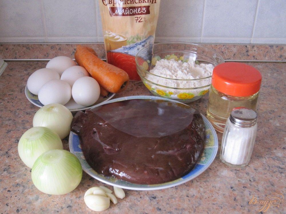 Фото приготовление рецепта: Торт из печенки шаг №1