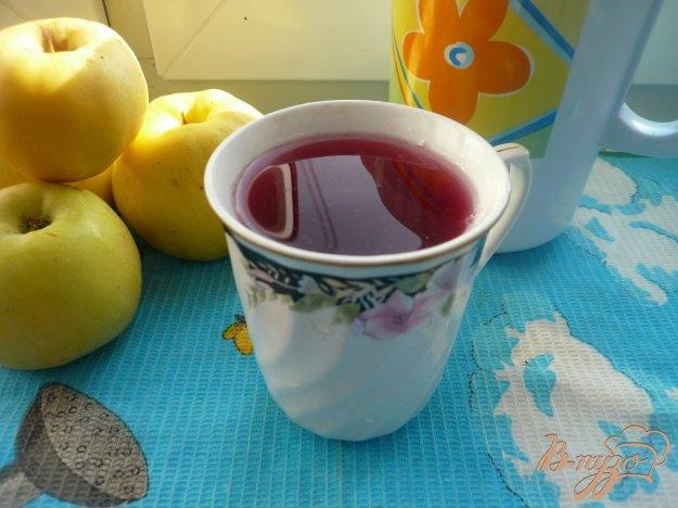 фото рецепта: Виноградно-яблочный компот с мятой