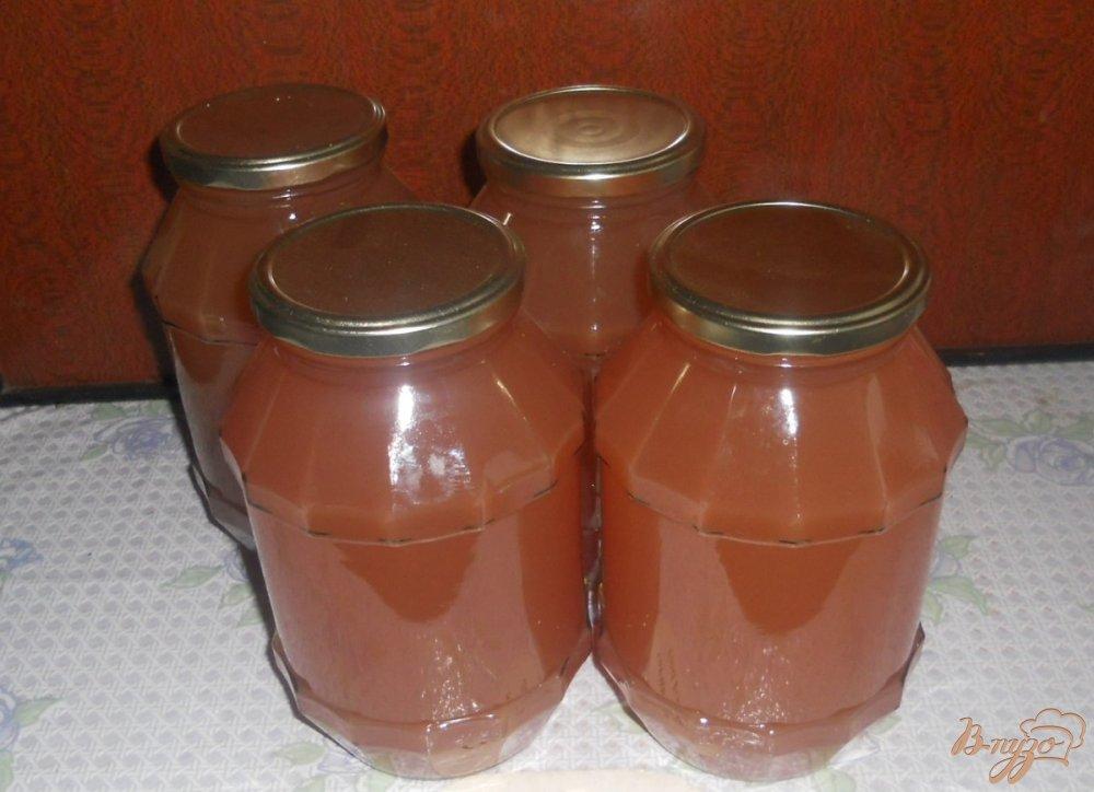 Фото приготовление рецепта: Яблочный сок из соковарки шаг №5
