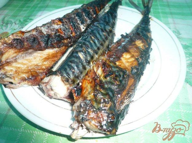 Рецепт Скумбрия, жаренная на мангале