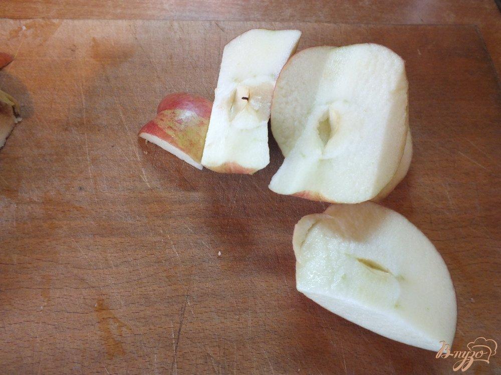 Фото приготовление рецепта: Тыквено-яблочный фрэш с корицей шаг №1