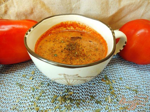 Рецепт Салат в соковыжималке из помидора и болгарского перца