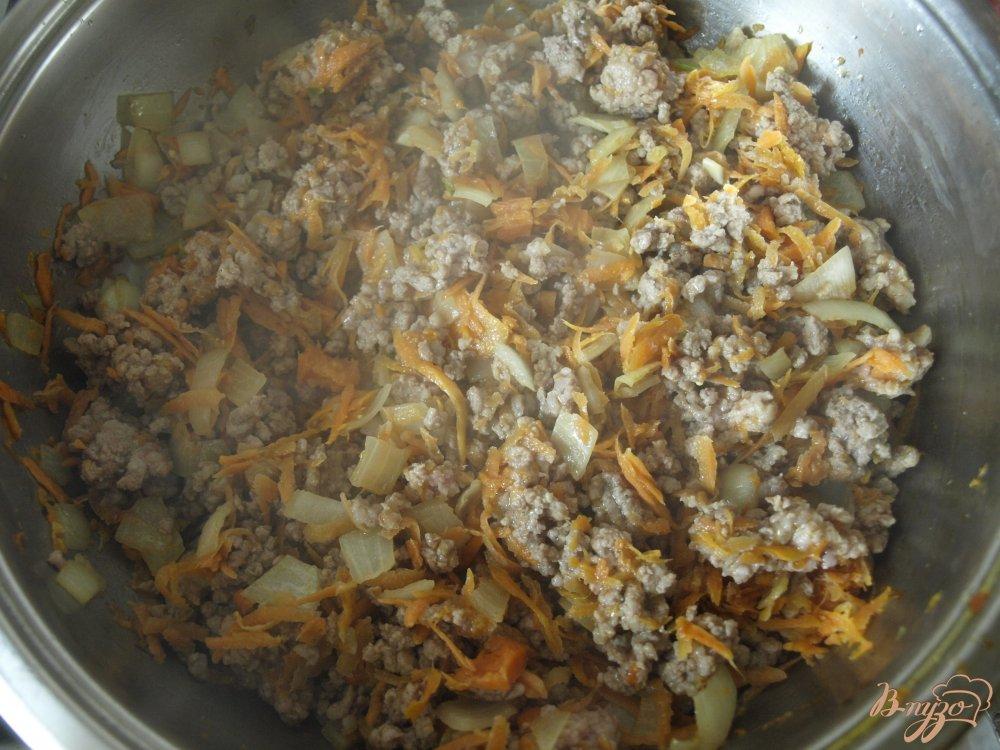 Фото приготовление рецепта: Фаршированная тыква шаг №2