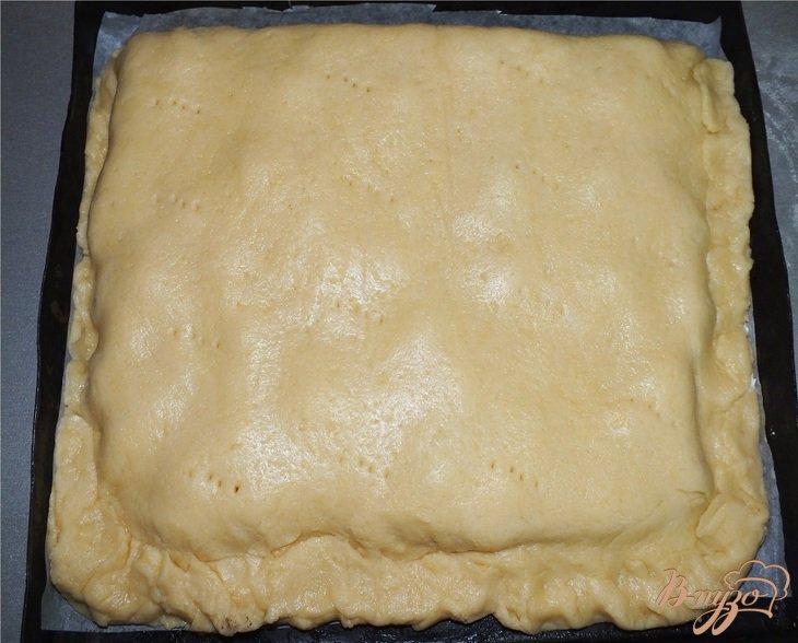 Фото приготовление рецепта: Печенье с малиной шаг №5