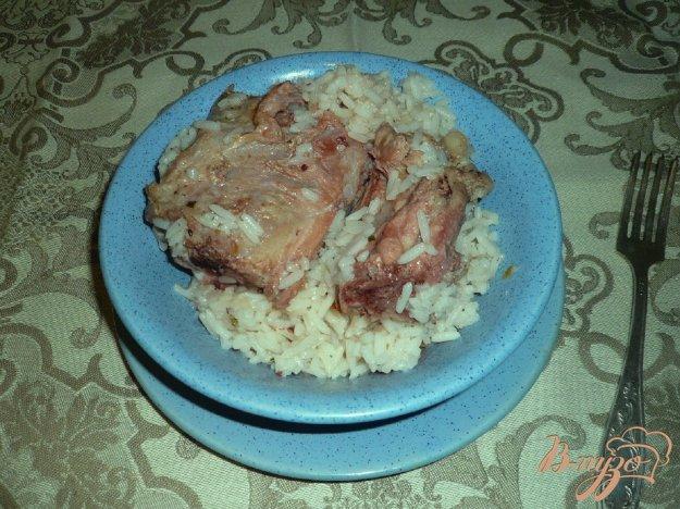 Рецепт Свинина с рисом и курагой