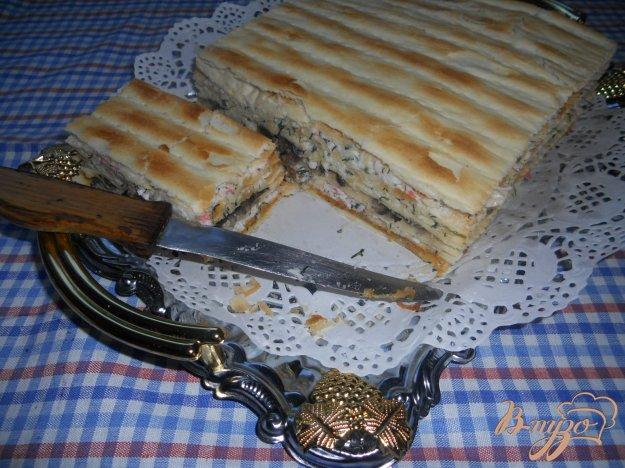 Рецепт Наполеон закусочный