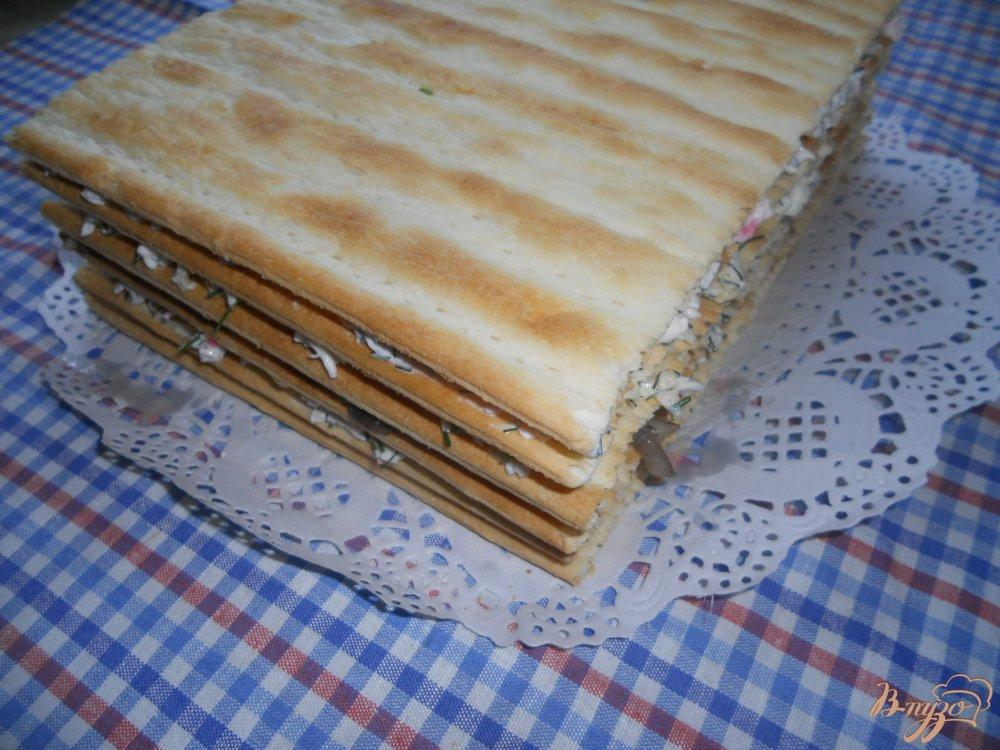 Фото приготовление рецепта: Наполеон закусочный шаг №9
