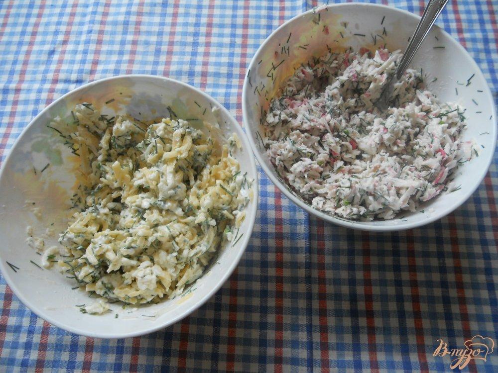 Фото приготовление рецепта: Наполеон закусочный шаг №3